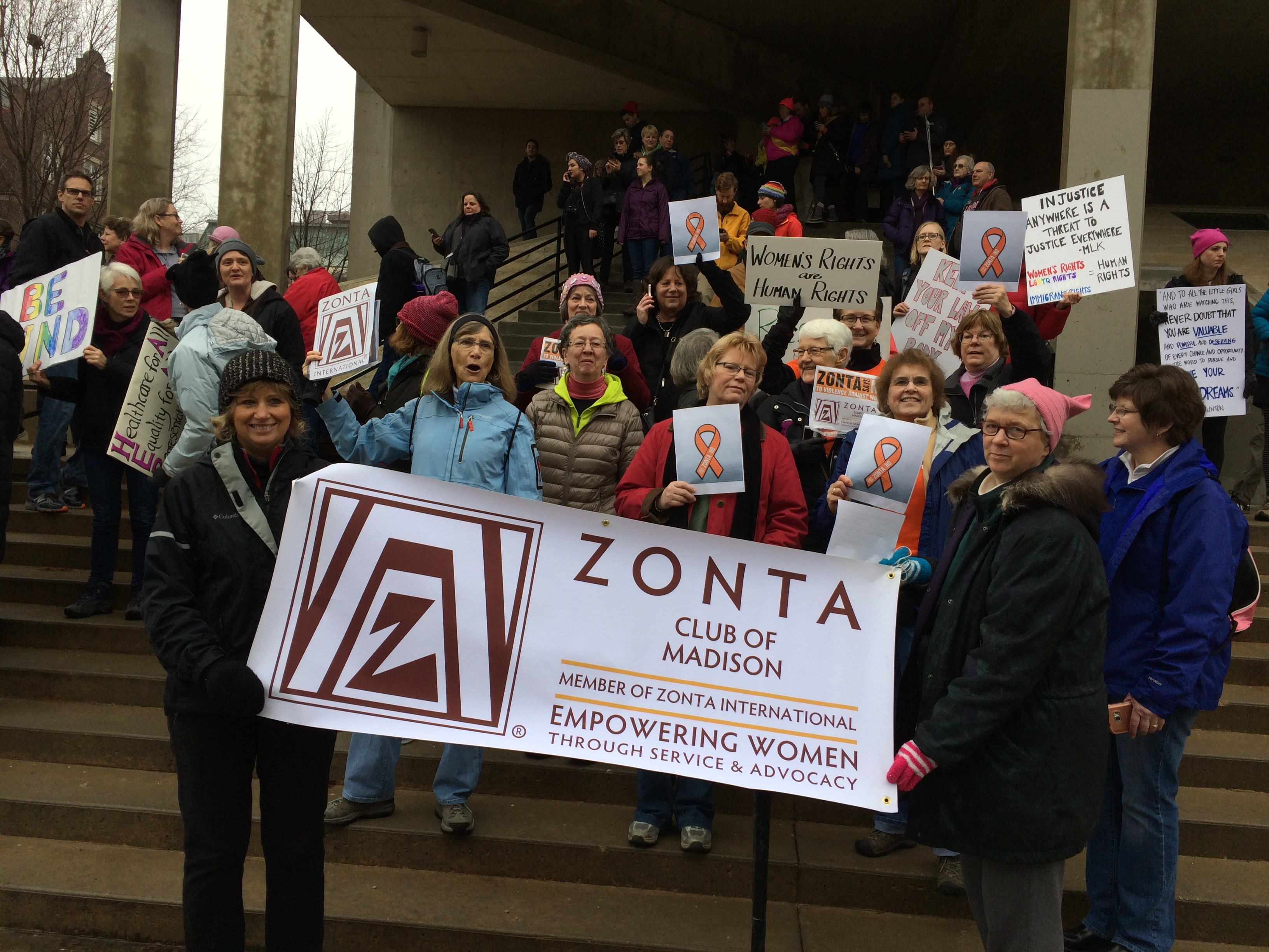 zonta district a member of zonta international please continue to be active in advocacy events in a non partisan fashion highlighting zonta s efforts to empower women